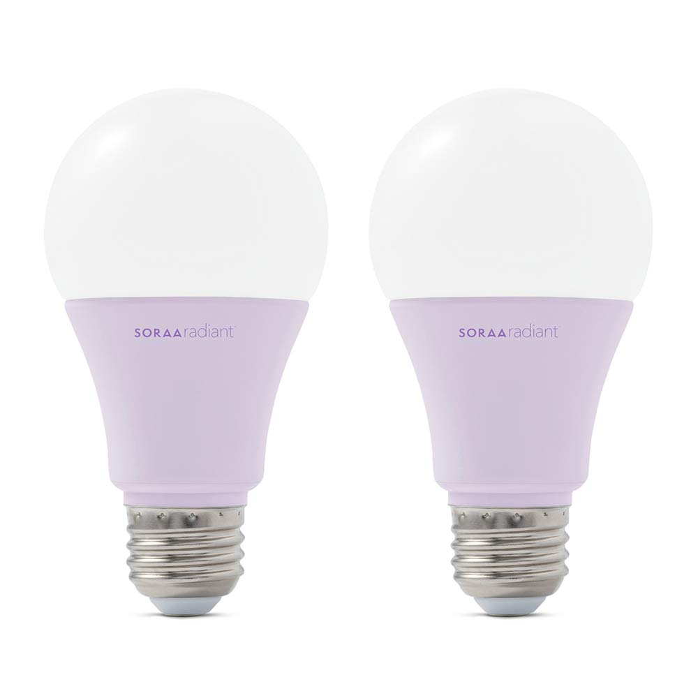 Sora Radiant A19 - museum-quality climate-friendly LED light bulb