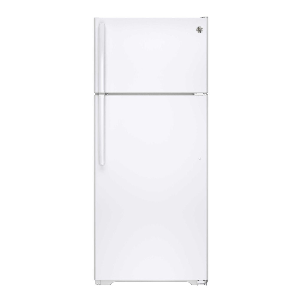 GE GTE18GTHWW - most climate friendly budget refrigerator