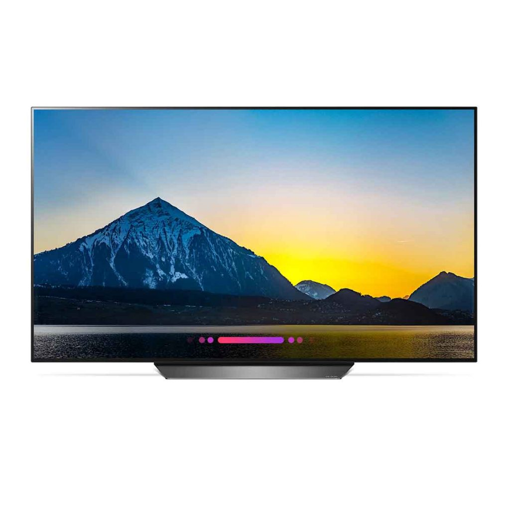 LG B8 - most climate-friendly high-end TV